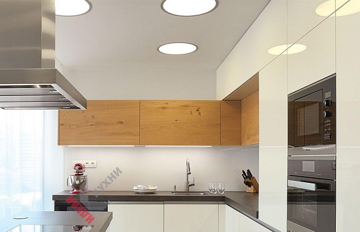 Кухня из акрила №004