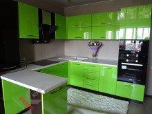 Кухня из МДФ крашенного №009