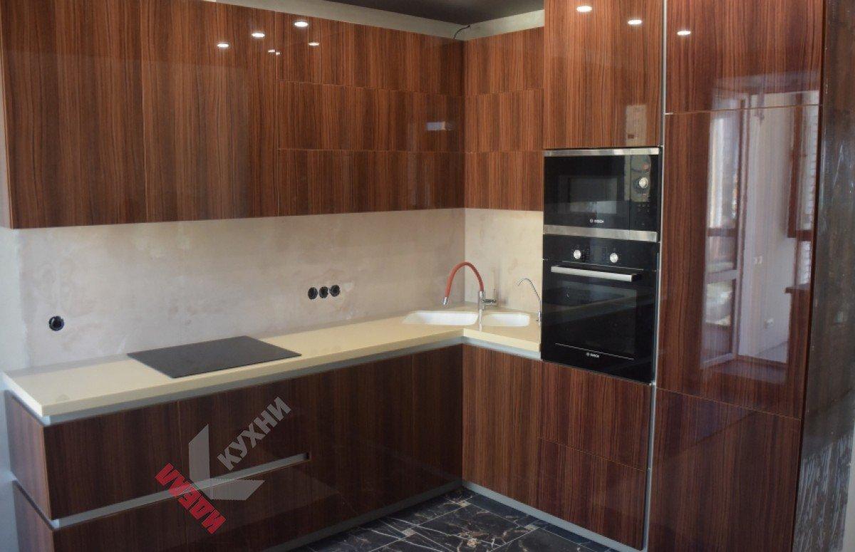 Кухня из пластика №001