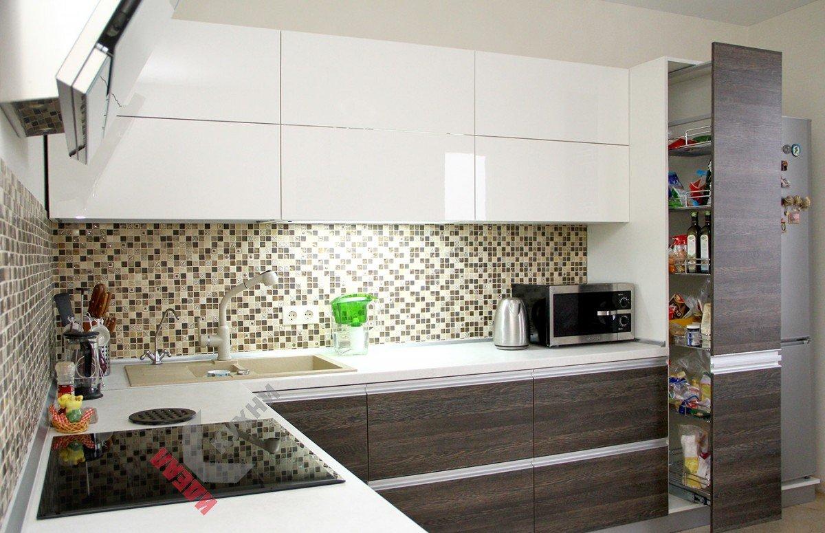 Кухня из пластика №002