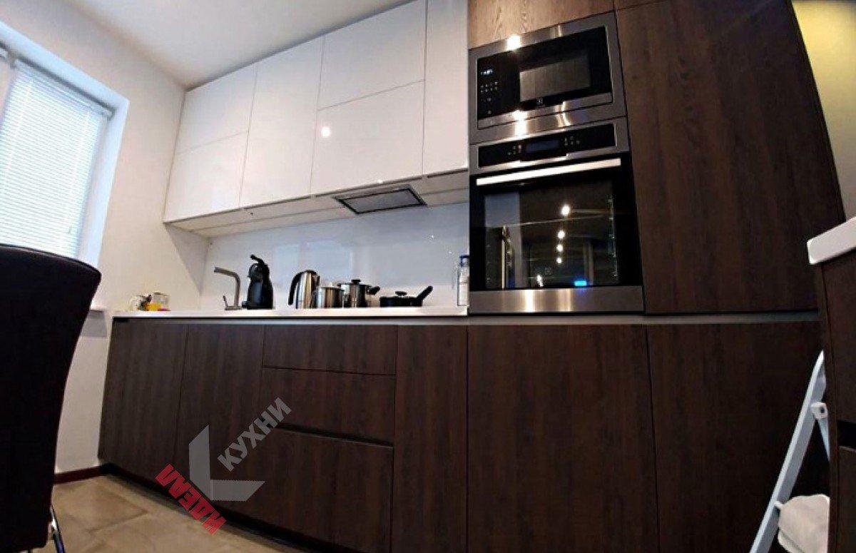 Кухня из пластика №004