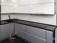 Кухня из пластика №005