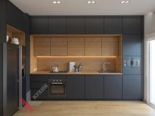 Кухня из пластика №007