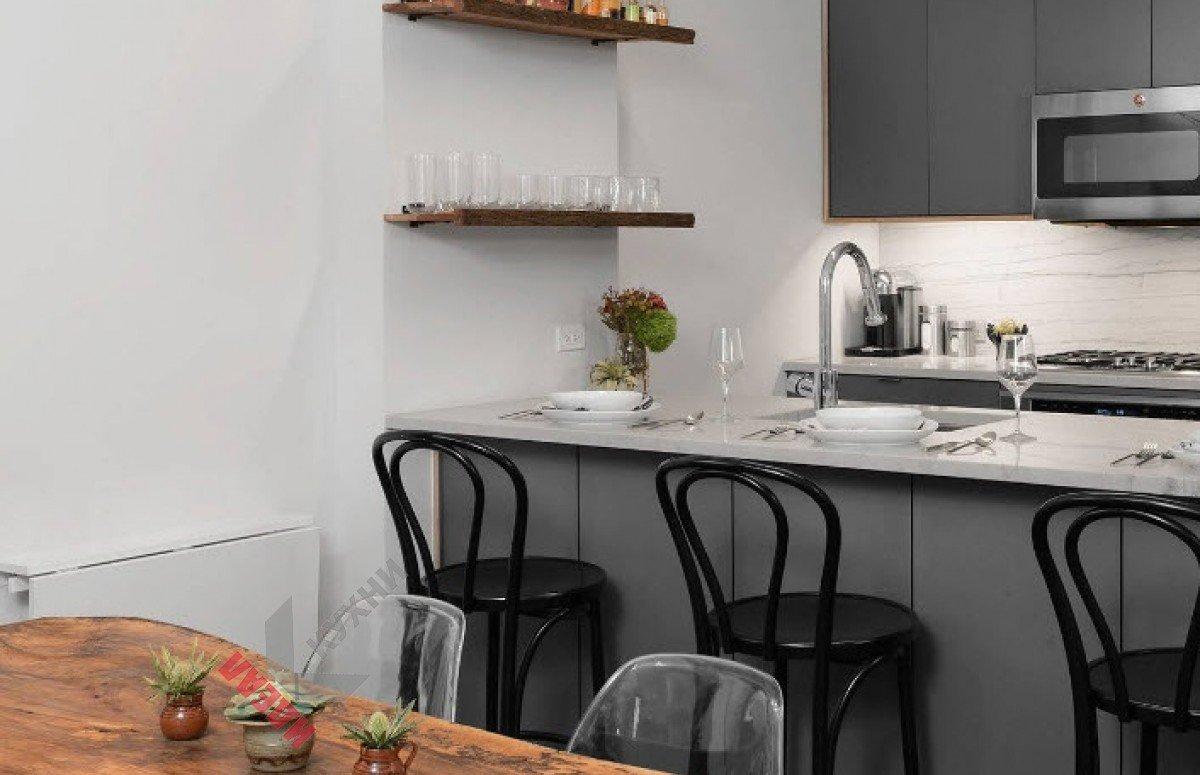 Кухня из пластика №009