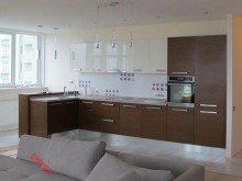 Кухня из пластика №013