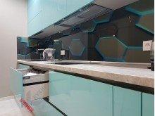 Кухня из пластика №014