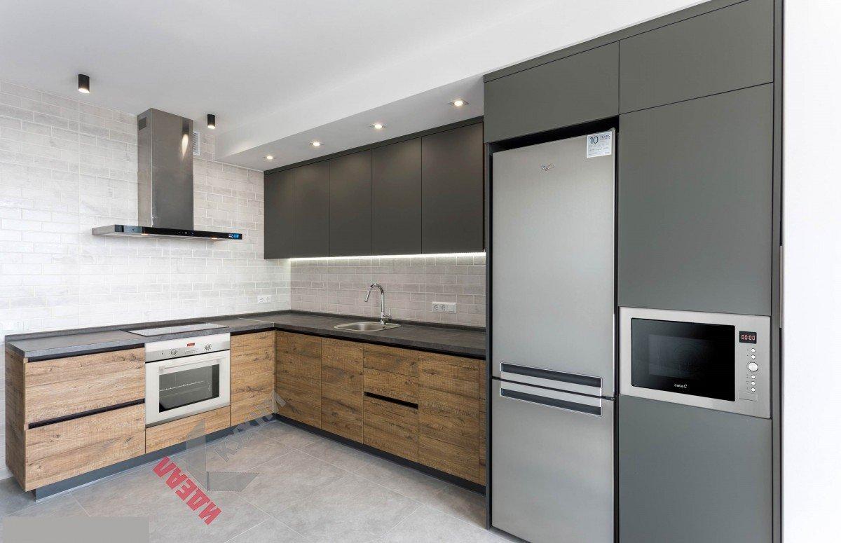Кухня из пластика №016