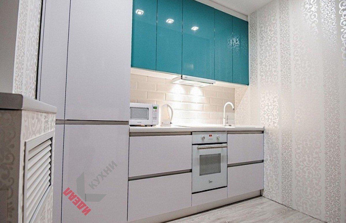 Кухня из пластика №017