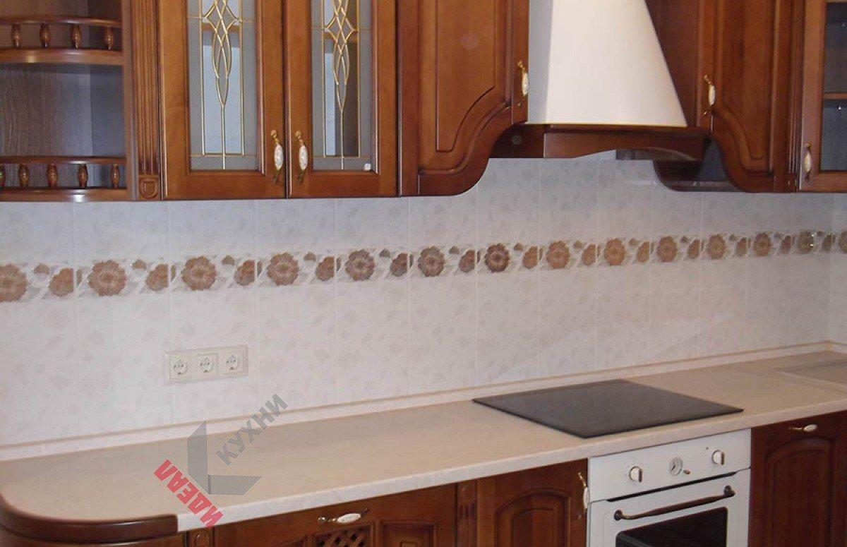 Кухня из массива №002