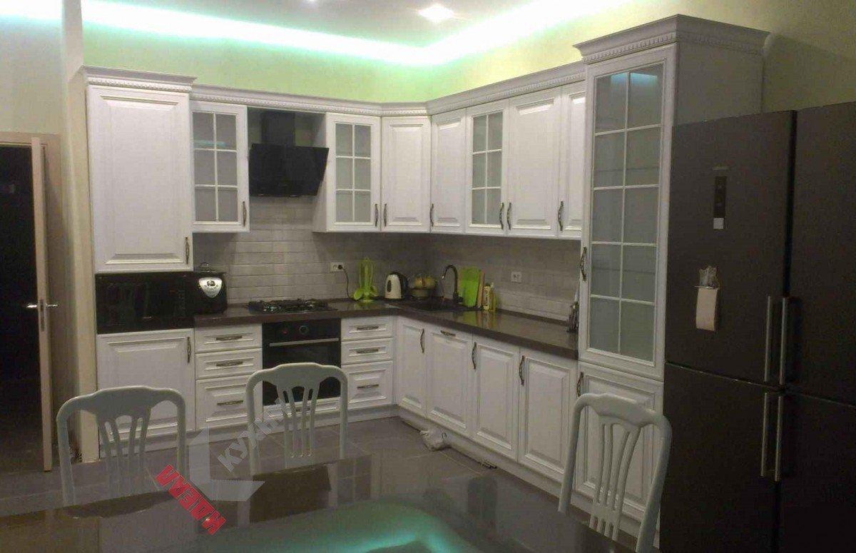 Кухня из массива №006