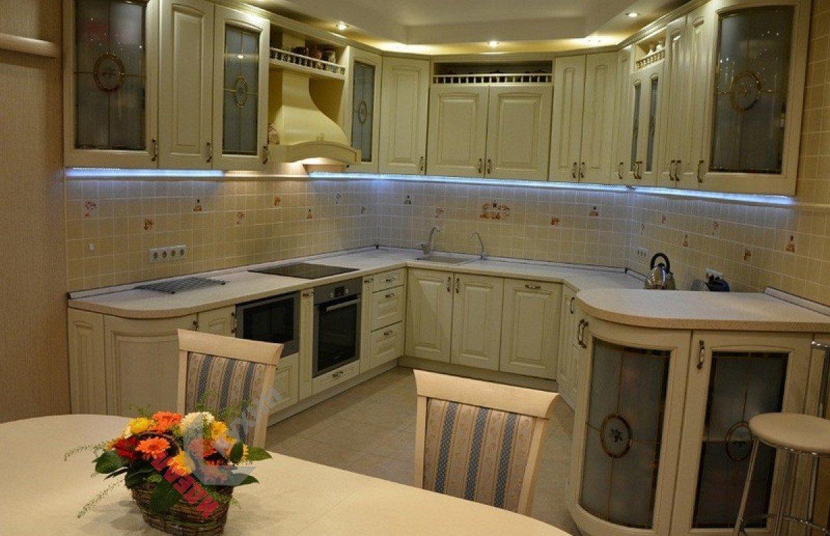 Кухня из массива №009