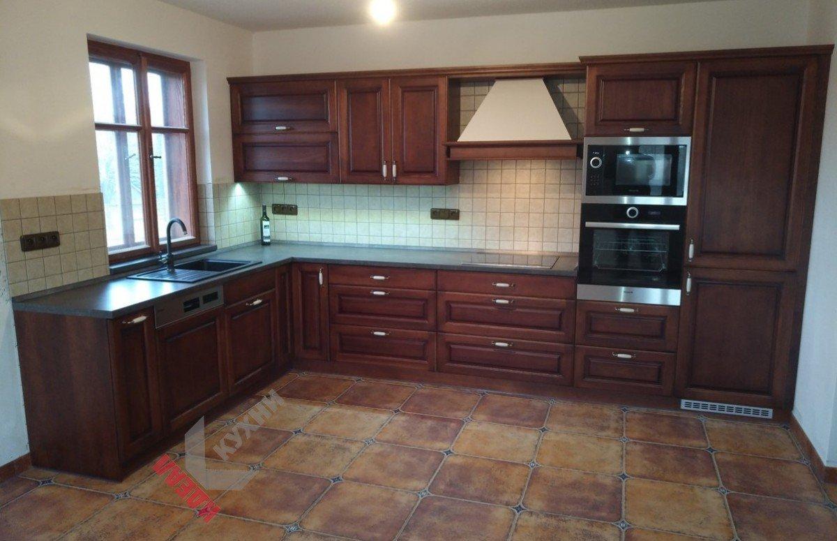 Кухня из массива №013