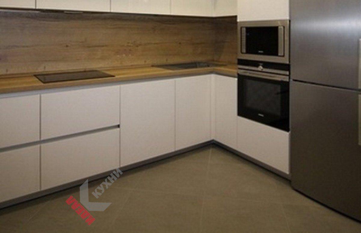 Кухня без ручек №003