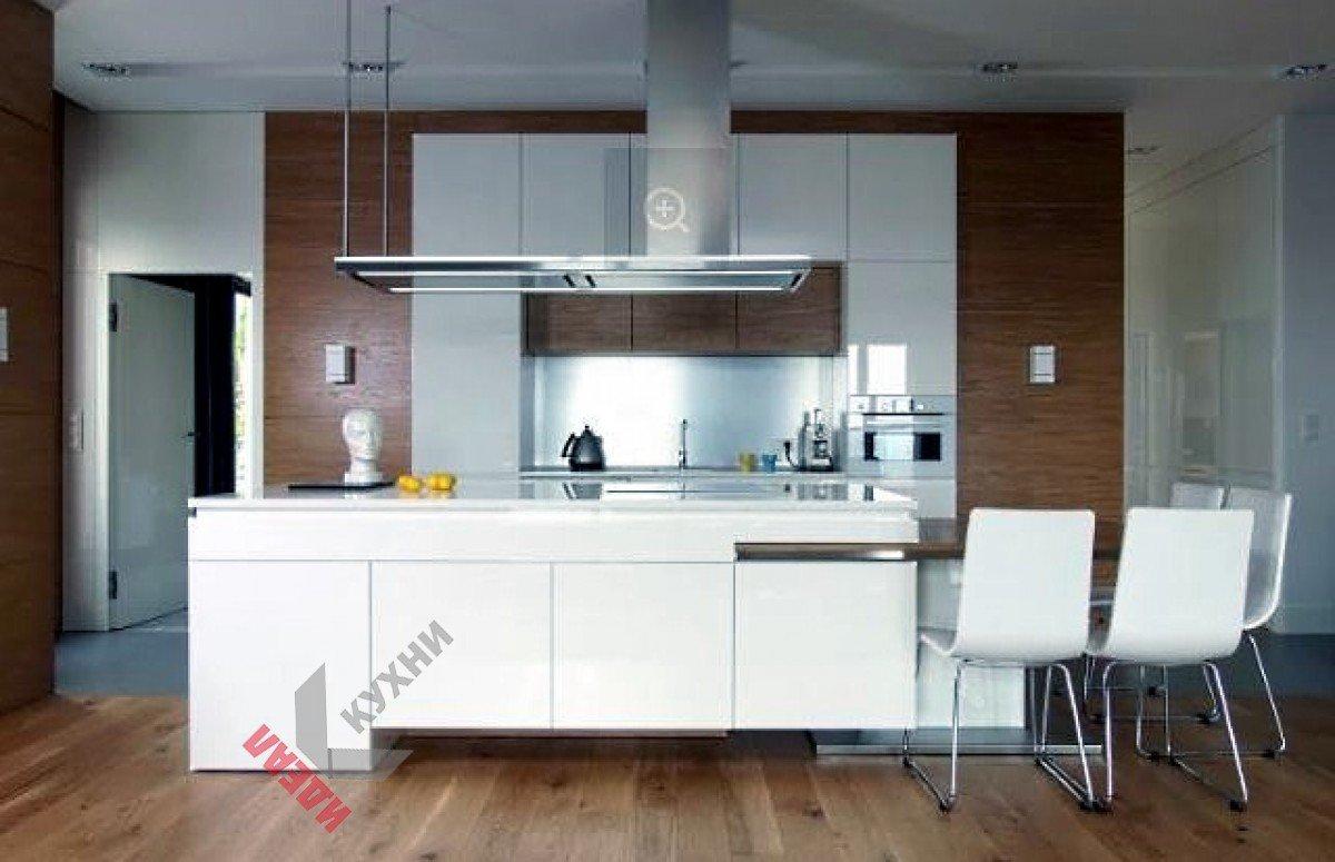 Кухня без ручек №008