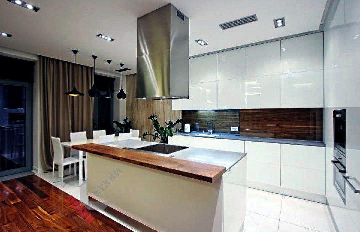Кухня без ручек №009