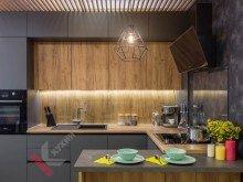 Кухня из пластика FENIX NTM №001