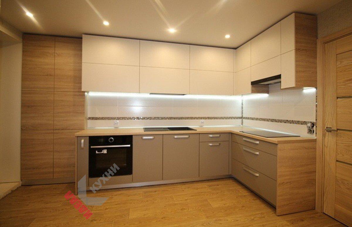 Кухня из пластика FENIX NTM №003