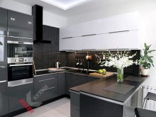 Кухня с фасадами Alvic №006