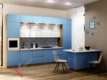Кухня из ЛДСП EGGER №007