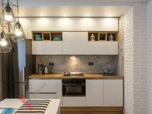 Прямая (линейная) кухня №001