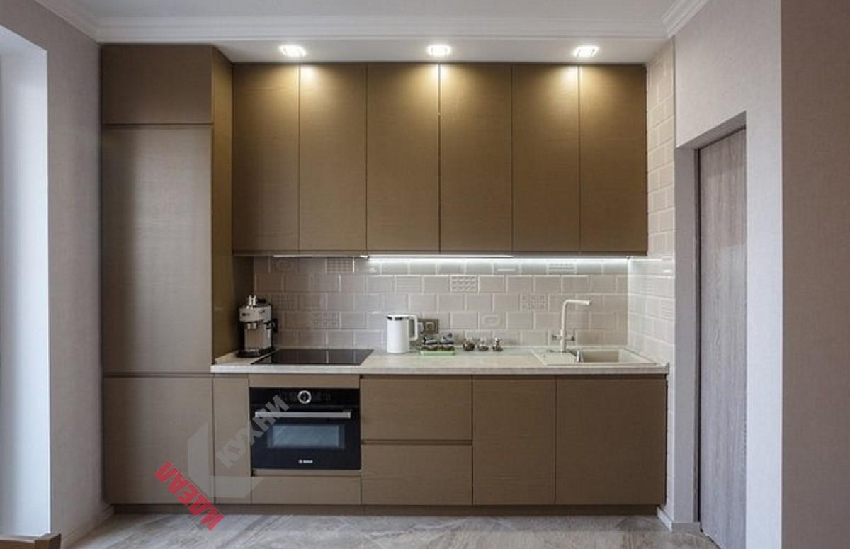 Прямая (линейная) кухня №002