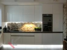 Прямая (линейная) кухня №004
