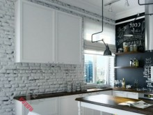 Кухня лофт №003