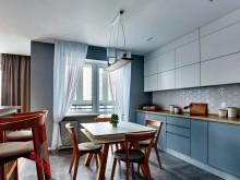 Угловая кухня №003