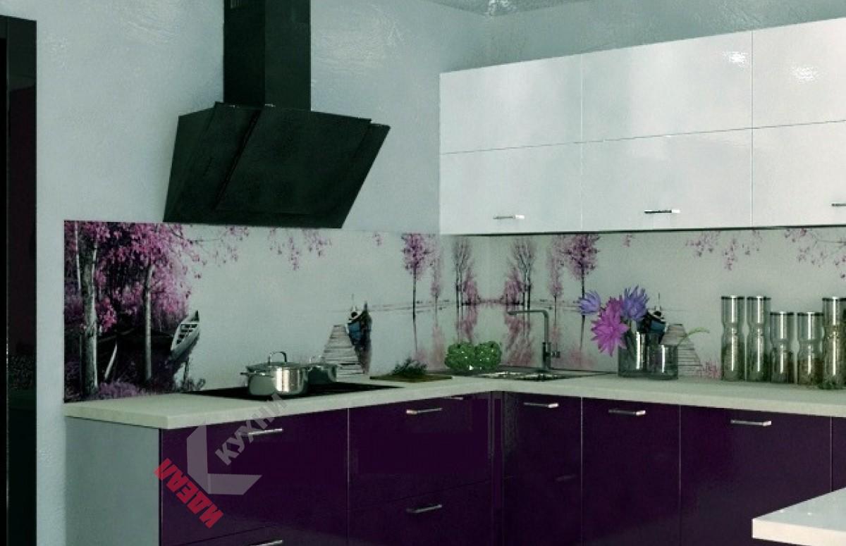 Угловая кухня №004