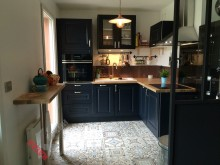 Угловая кухня №006