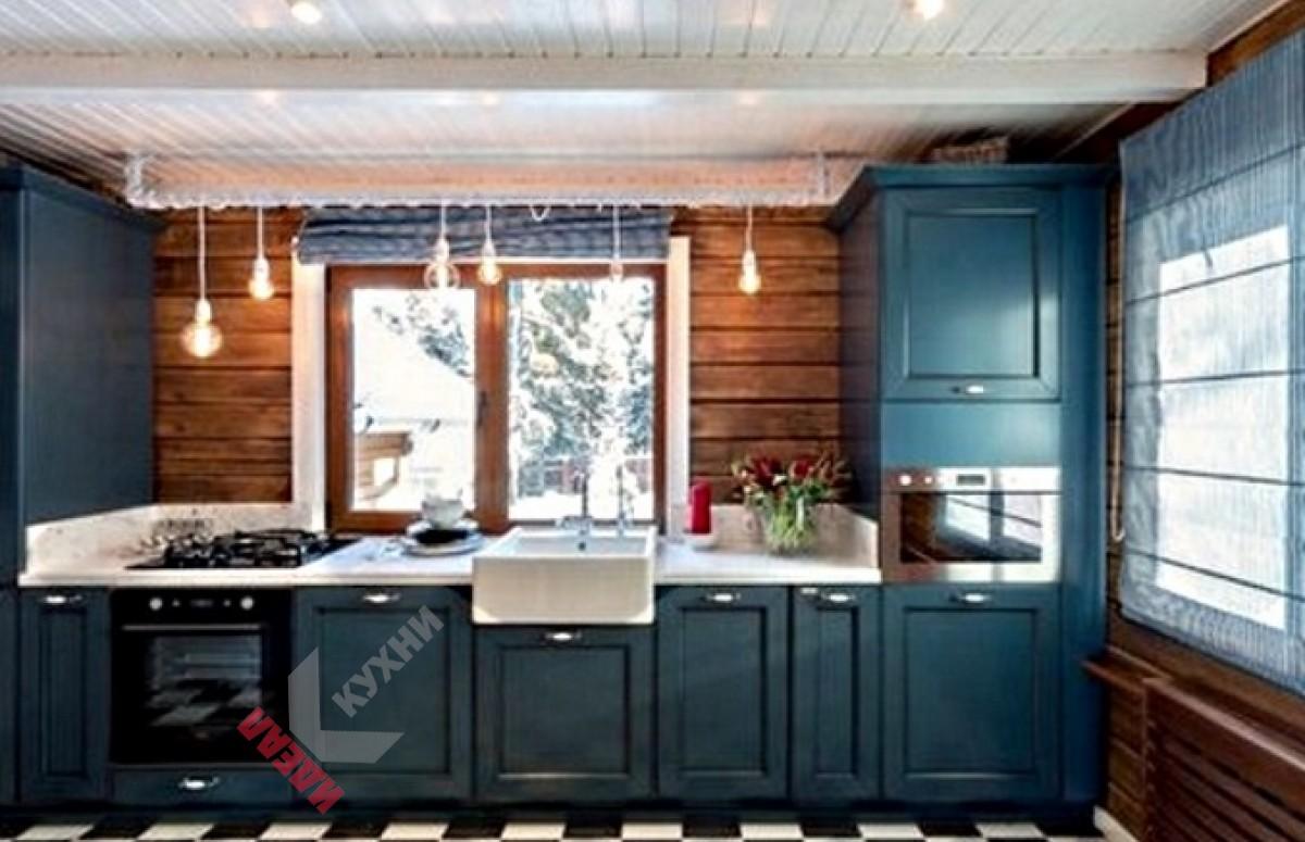 Встроенная кухня №004