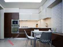 Кухня из шпона №001