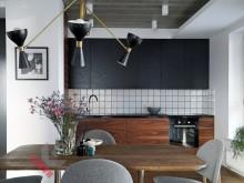 Кухня из шпона №002