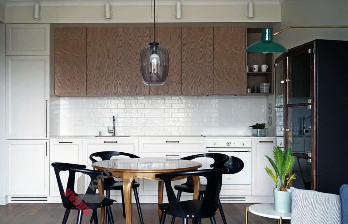 Кухня из шпона №003