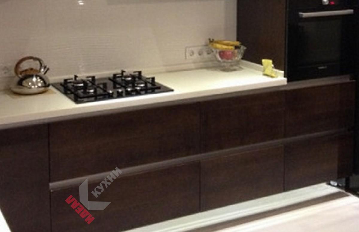 Кухня из шпона №004