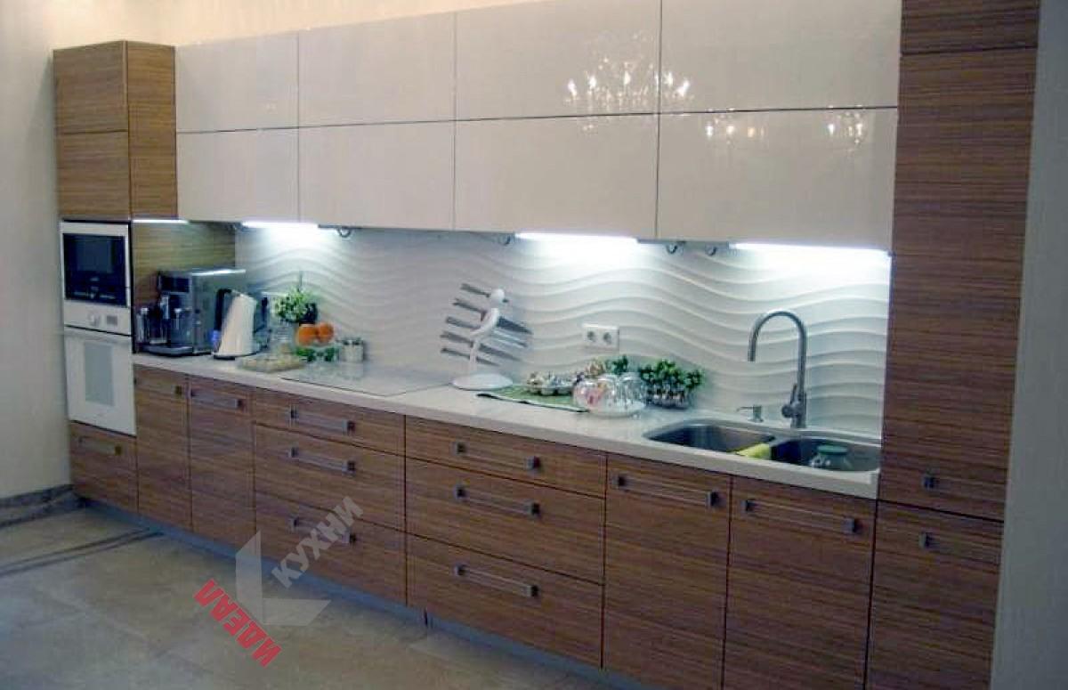 Кухня из шпона №005