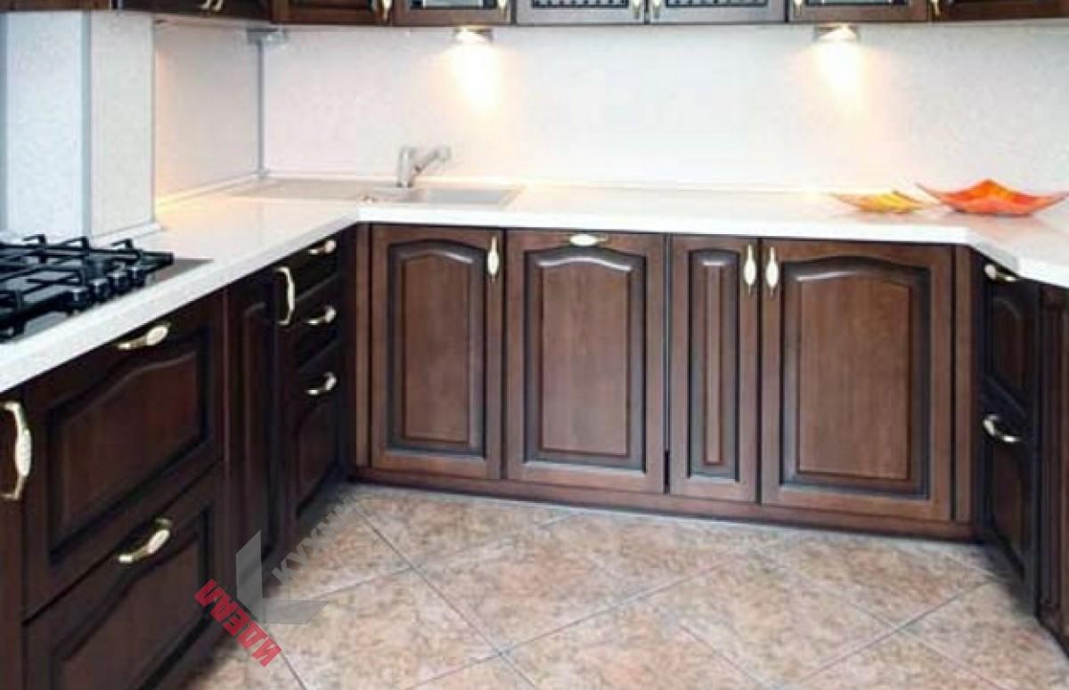 Кухня с патиной №005