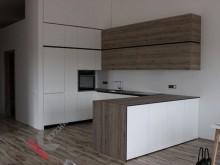 П-образная кухня №003