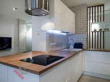 П-образная кухня №005