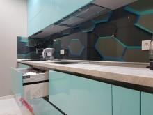 Кухня с профилем Gola №004