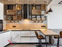 Кухня из пластика FENIX NTM №006