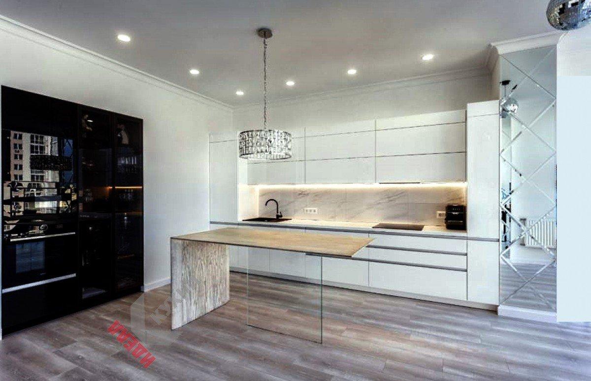Кухня с фасадами Alvic №007