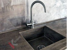 Кухня из МДФ крашенного №016