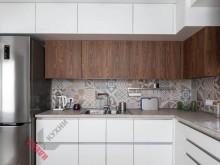 Кухня из акрила №016