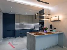 Кухня из акрила №018