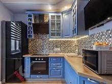 Кухня из МДФ крашеного №017