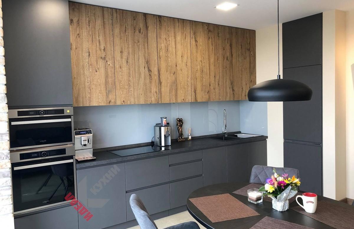 Кухня в коттедж №001