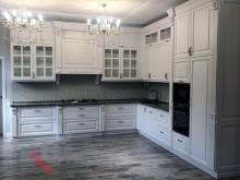 Кухня в коттедж №002