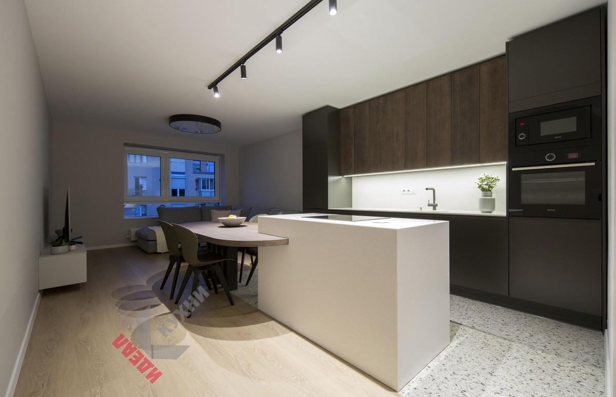 Кухня для коттеджа №005