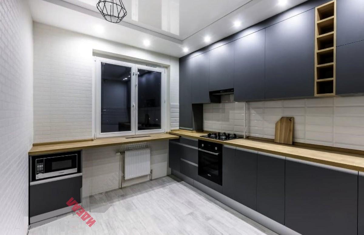 Кухня из пластика FENIX NTM №009